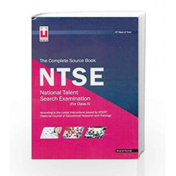 The Complete source book NTSE (for Class-X) by Kumar Book-9789351873044