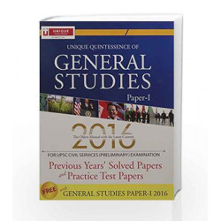 General Studies 10 Years Solved Papers & Question Papers 10.10 by J.K. Chopra Book-9789351873266