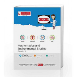 CTET Mathematics and Environmental Studies Class I-V (31.67) 2016-17 by TRUTZ HARDO Book-9789351874058