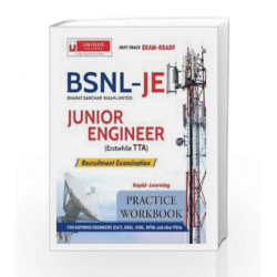 BSNL Junior Engineer (Erstwhile TTA) Practice Workbook 2016-17 by JIM STOVALL & RAYMOND H. HULL Book-9789351874300