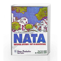 NATA (National Aptitude Test in Architecture) by Prof. S.C.Garg & Dr.Yogesh K.Garg Book-9789351920342