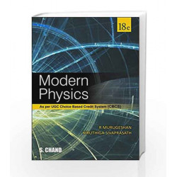 Modern Physics by R Murugeshan Book-9789352533107