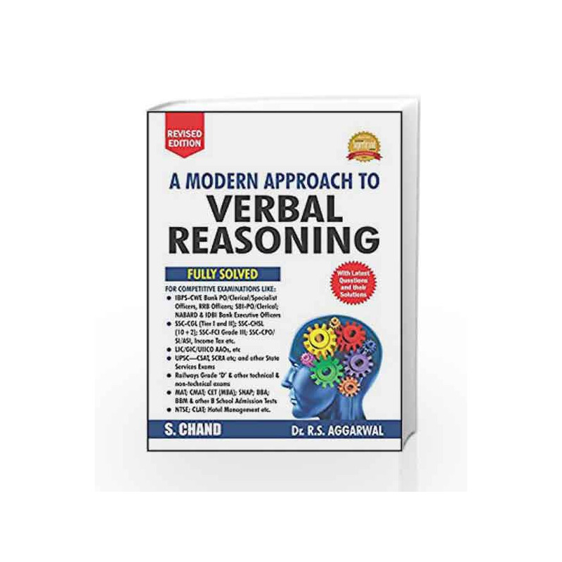 A Modern Approach to Verbal Reasoning (R.S. Aggarwal) by ORIENT Book-9789352535323