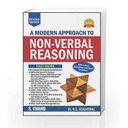 A Modern Approach to Non-Verbal Reasoning (R.S. Aggarwal) by ORIENT Book-9789352535330
