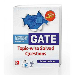 GATE ECE Topic-wise Solved Questions by Kishore Kashyap Book-9789352602223