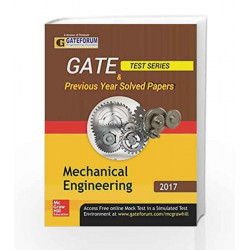 GATE Test Series & Previous Year Solved Papers - Mechanical Engineering by MHE Book-9789352603275