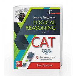 How to Prepare for Logical Reasoning for CAT by VERMA Book-9789352606948