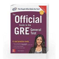 The Official Guide to the GRE General Test by ETS Book-9789352607372