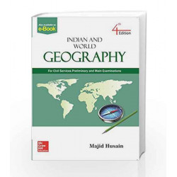 Indian and World Geography by S SRIDHAR Book-9789352607785