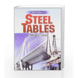 Steel Tables by S. Vizrani Book-9789380027616