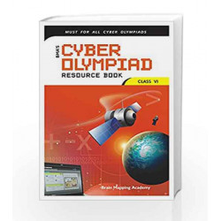 Cyber Olympiad Resource Book for Class - 6 by Brain Mapping Academy Book-9789380299143