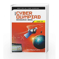 Cyber Olympiad Resource Book for Class - 8 by Brain Mapping Academy Book-9789380299167