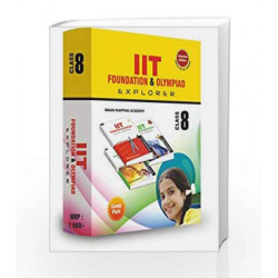 Combipack IIT foundation for Class - 8 by Brain Mapping Academy Book-9789380299488