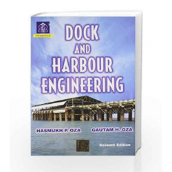 Dock & Harbour Engineering Ed.7 by Oza Book-9789380358789