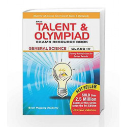 BMA\'s Talent & Olympiad Exams Resource Book for Class - 4 (EVS) by Brain Mapping Academy Book-9789382058588