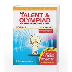 BMA\'s Talent & Olympiad Exams Resource Book for Class - 7 (Science) by Brain Mapping Academy Book-9789382058618