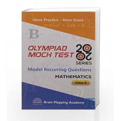 BMA\'s Olympiad Mock Test 20-20 Series - Mathematics for Class - 9 by Brain Mapping Academy Book-9789382058830