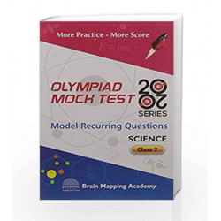 BMA\'s Olympiad Mock Test 20-20 Series - Science for Class - 7 by Brain Mapping Academy Book-9789382058915