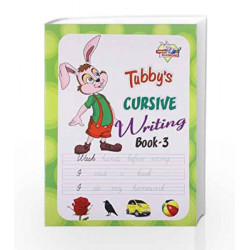 Tubbys Cursive Writing Book 3 by Jr Diamond Book-9789382562931