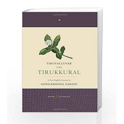The Tirukkural: A New English Version by Tiruvalluvar Book-9789383064700