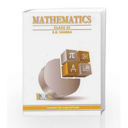 Mathematics for Class 11 by GANGULI Book-9789383182954