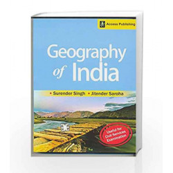 Geography of India for Civil Services Examination by Surender Singh Book-9789383454037