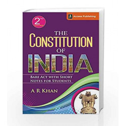 The Constitution of India: Bare Act with Short Notes by BIBLE STORIES Book-9789383454204