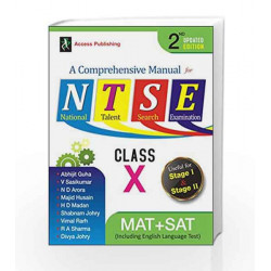 A Comprehensive Manual for NTSE for Class X by Abhijit Guha Book-9789383454396