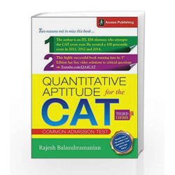 Quantitative Aptitude for the CAT by Rajesh Balasubramanian Book-9789383454402