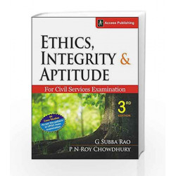 Ethics, Integrity and Aptitude for Civil Services Examination by G. Subba Rao Book-9789383454471