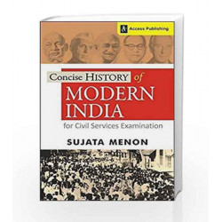 Concise History of Modern India for Civil Services Examination by BIBLE STORIES Book-9789383454518