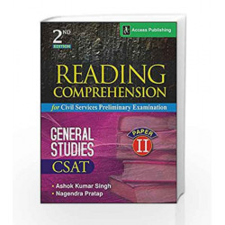 Reading Comprehension for Civil Services Preliminary Examination (Second Edition) by Ashok Kumar Singh Book-9789383454679