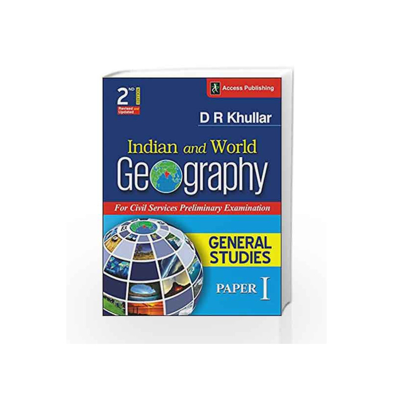 Indian and World Geography for General Studies Paper 1 (Prelims) by -Buy  Online Indian and World Geography for General Studies Paper 1 (Prelims)  Book