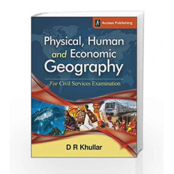 Physical, Human and Economic Geography for Civil Services Examination by BIBLE STORIES Book-9789383454723