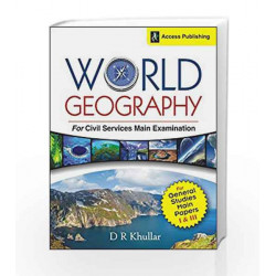 World Geography for Civil Services Main Examination by D.R. Khullar Book-9789383454730