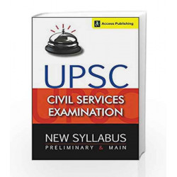 UPSC Civil Services Syllabus: Preliminary and Main Examination by Access Book-9789383454808