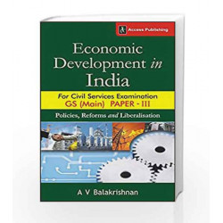 Economic Development in India for GS Paper 3 Civil Services Examination (Main) by BIBLE STORIES Book-9789383454815