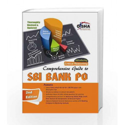 Comprehensive Guide to SBI Bank PO Exam by Disha Experts Book-9789384089009