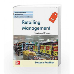 Retailing Management: Text and Cases by Pradhan Book-9789385965043