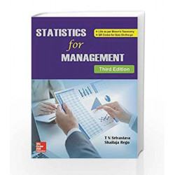 Statistics for Management by T N Srivastava Book-9789385965630