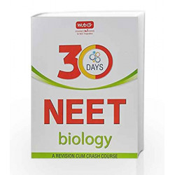 30 Days Crash Course for NEET - Biology by MTG Editorial Board Book-9789385966514