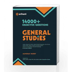 14000+ Objective Questions - General Studies by ANDREWS Book-9789386179067