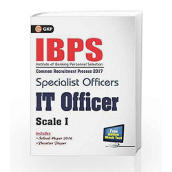 IBPS Specialist Officers IT Officer Scale I 2017 by GKP Book-9789386309099