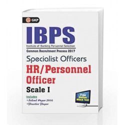 IBPS Specialist Officers HR/Personnel Officer Scale I 2017 by GKP Book-9789386309112