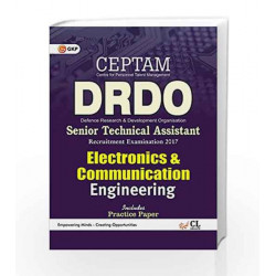 DRDO (CEPTAM) Senior Technical Assistant  Electronics & Communication Engineering 2017 by GKP Book-9789386309167