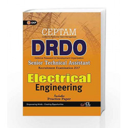 DRDO (CEPTAM) Senior Technical Assistant Electrical Engineering 2017 by GKP Book-9789386309198