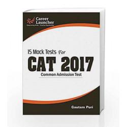 CAT 2017 -15 Mock Tests by Gautam Puri Book-9789386309426