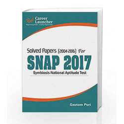 SNAP 2017 (Solved Papers 2004-2016) by Gautam Puri Book-9789386309440
