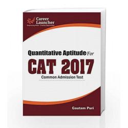 CAT 2017 Quantitative Aptitude by Gautam Puri Book-9789386309457
