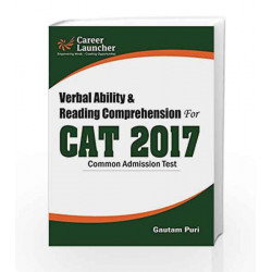 CAT 2017 Verbal Ability & Reading Comprehension by Gautam Puri Book-9789386309464